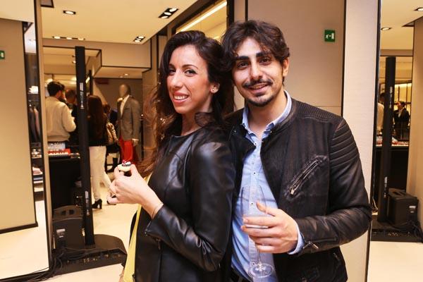Mjriam Moscato ed Andrea Inserra