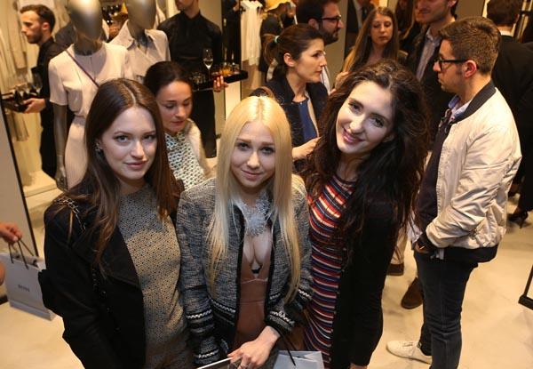 Line Piepka, Kassandra Von Lott e Cleofe Scotti