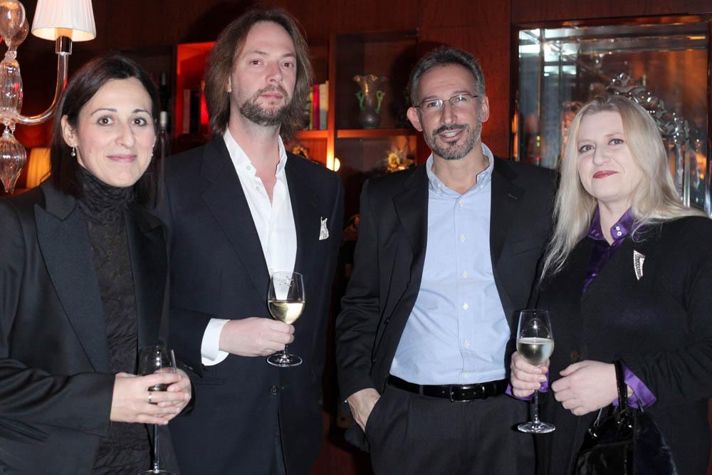 DANIELA GIUSTO,LEONARDO VISCONTI,RCCARDO PETITO E KARIN DE REDEMAEKER