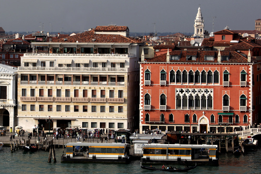 A view of the lagoon city of Venice. Rio di San Trovaso.  Venice mayor Massimo Cacciari seized the chance to put his famous but unlikely city in the frame for 2020.