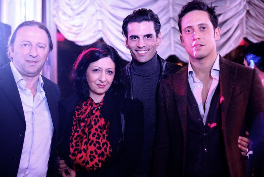 RODOLFO GIULIANI,ALESSANDRA NARDELLI, RICARDO CABIBBO,CLAUDIO CORTINI