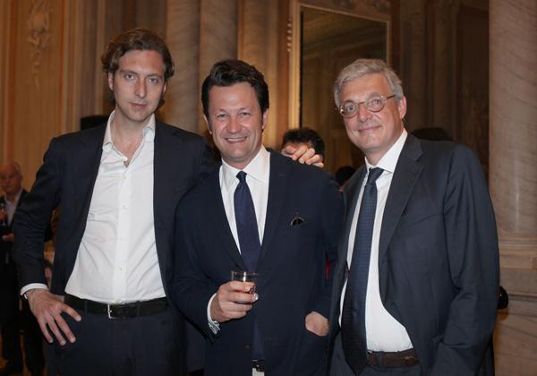 Nicolò Cirri, Alberto Marras, Giovanni Melloni