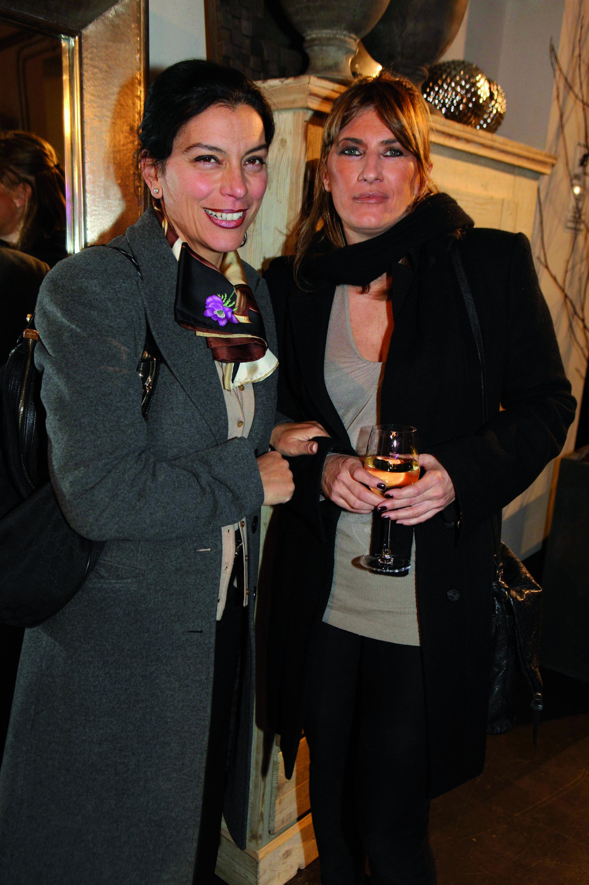 Pressphoto, inaugurazione negozio di arredamento INSIDE .Firenze Magazine  . Nella foto :  Rosa del Re,Monica Offidani