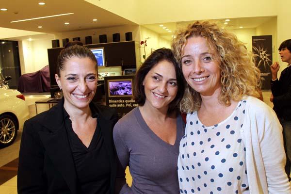 Paola Colzi, Vanessa Sammicheli, Elena Frusciante