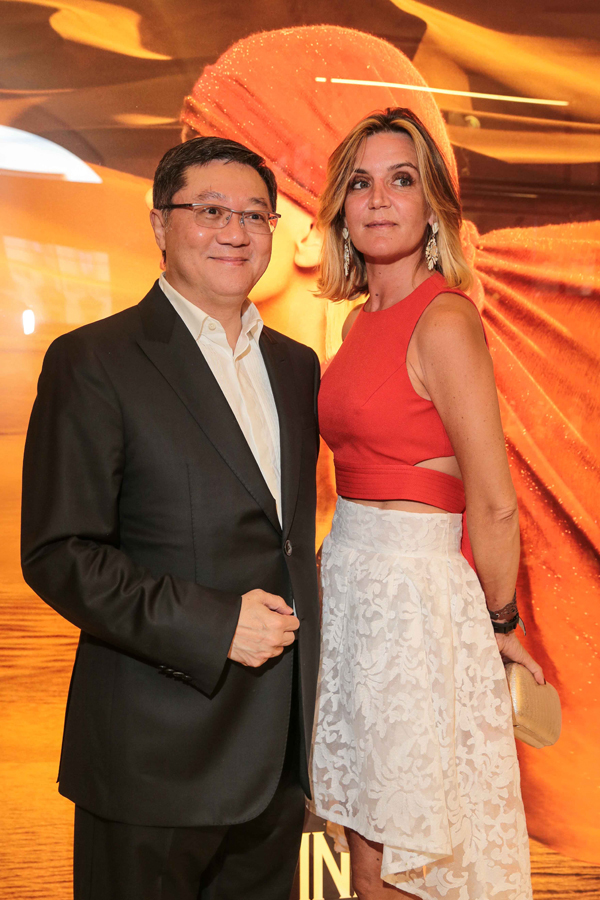 William Ng, Patrizia d'Asburgo