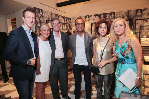 Carlo ed Eleonora Frescobaldi, Alberto Fraschetti, Carlo Conti, Francesca Vaccaro, Deborah Sassorossi