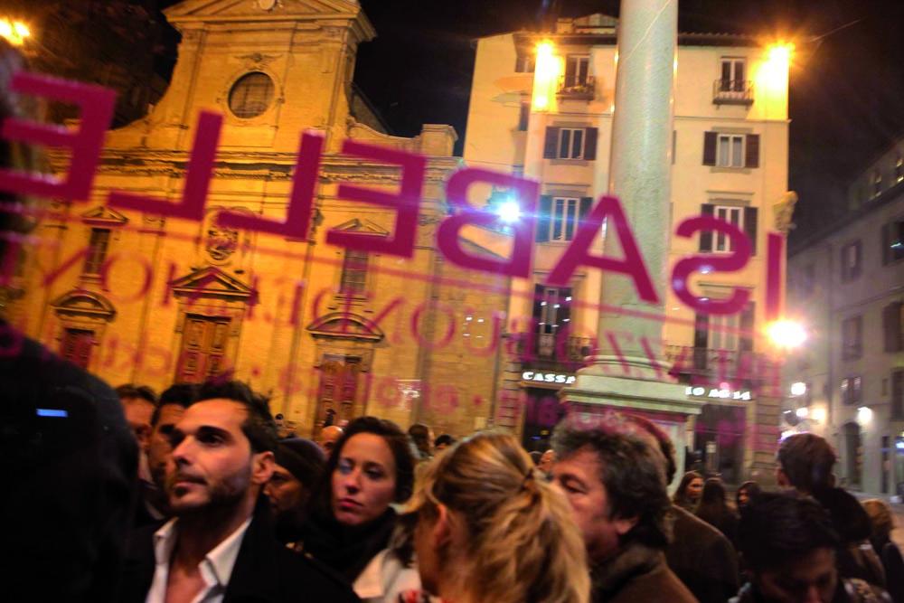 Pressphoto, Firenze  Inaugurazione Isabelle