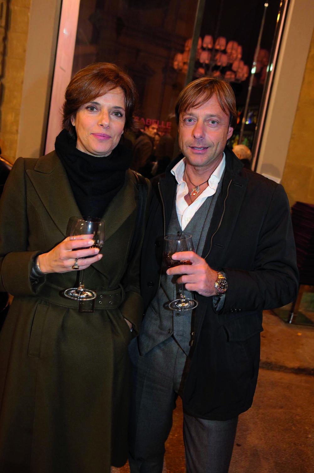 Pressphoto, Firenze  Inaugurazione Isabelle ; Bettina Giovannini, Sergio Paradiso