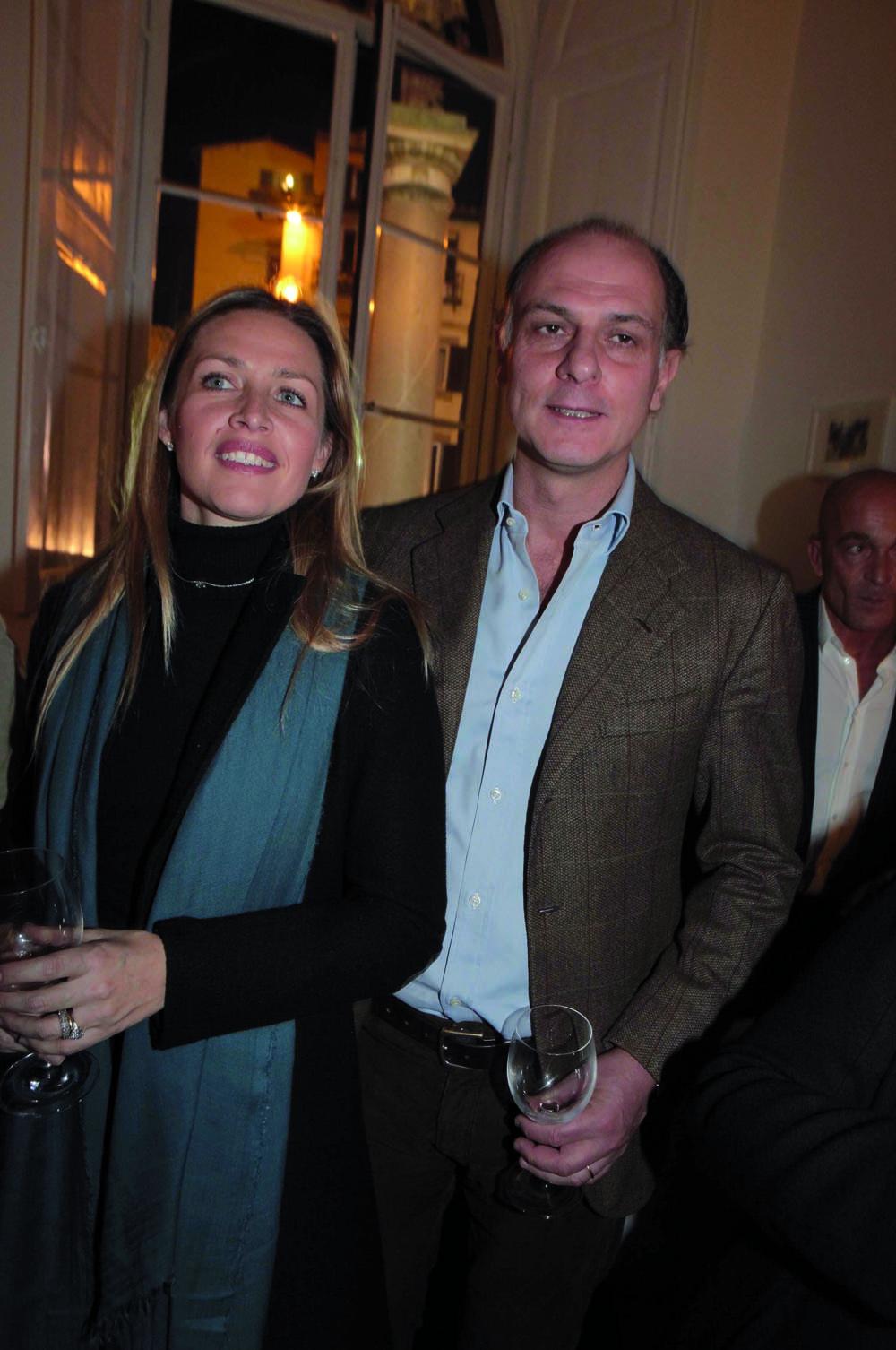 Pressphoto, Firenze  Inaugurazione Isabelle   NiccolÚ e Angelica Becagli