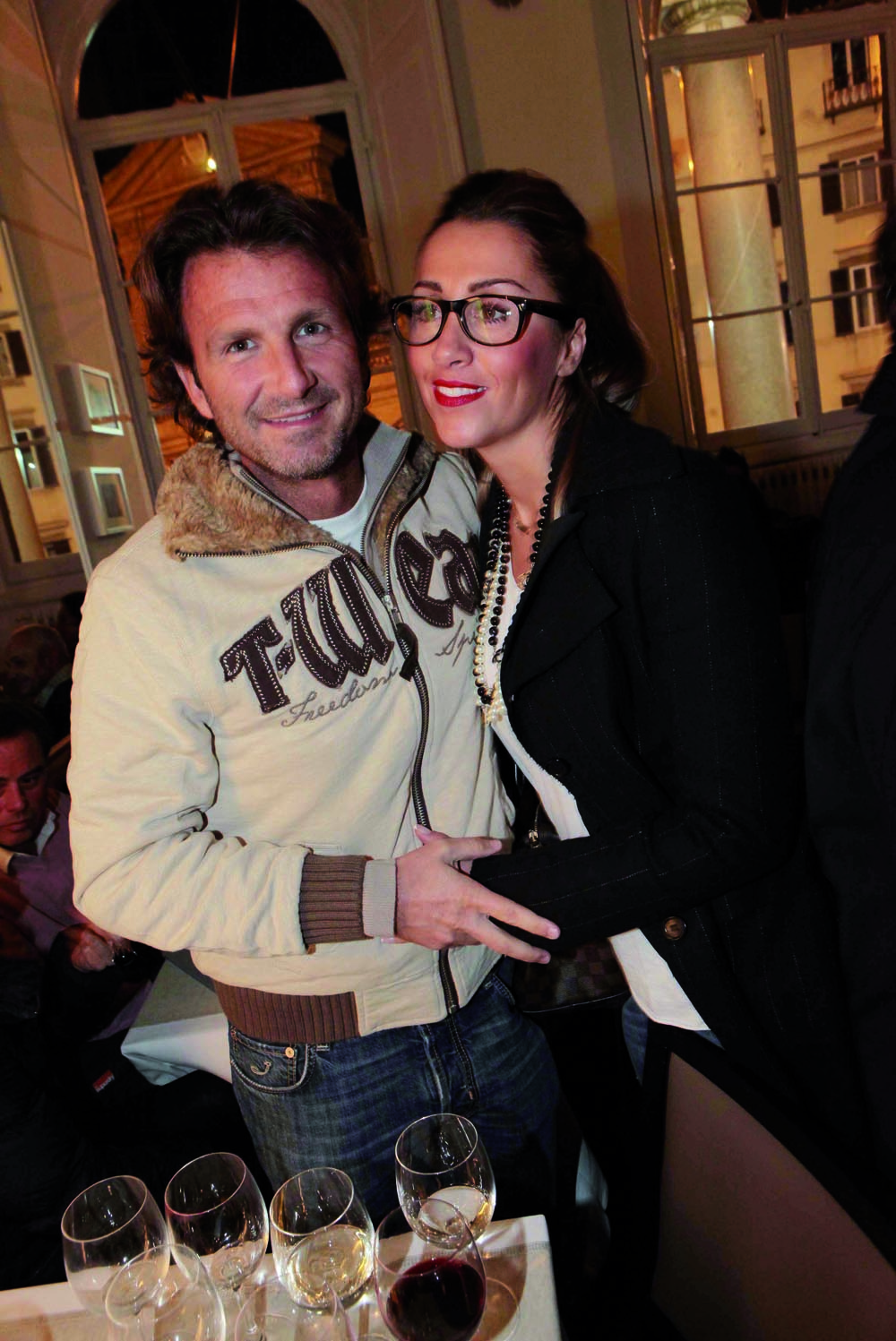 Pressphoto, Firenze  Inaugurazione Isabelle  Lorenzo e Irene Ristori