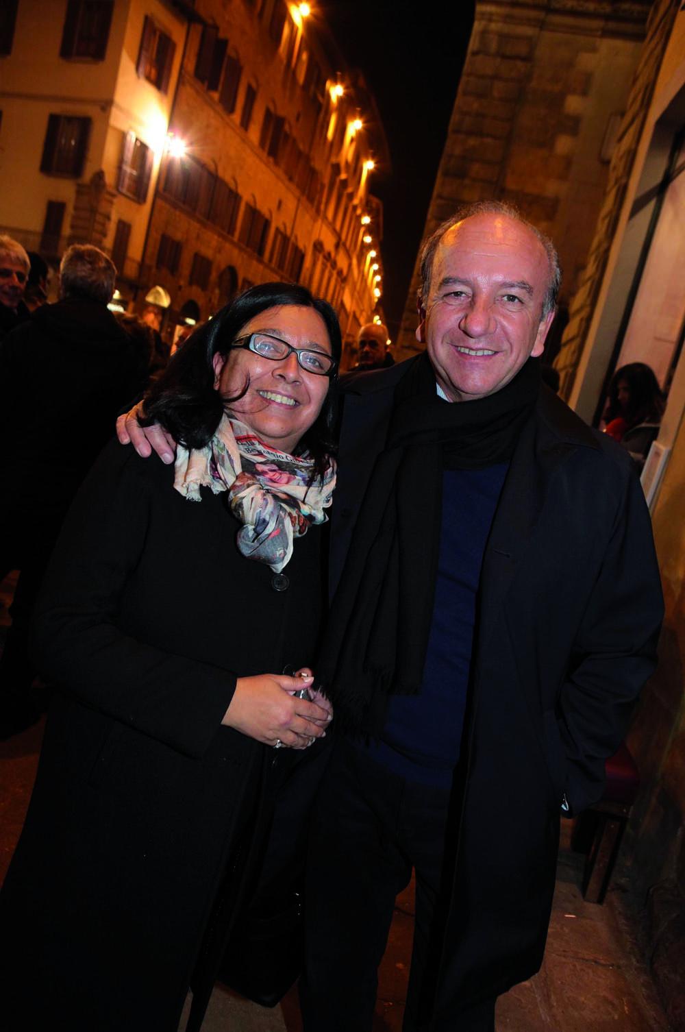 Pressphoto, Firenze  Inaugurazione Isabelle   Maurizio e ......Bonas