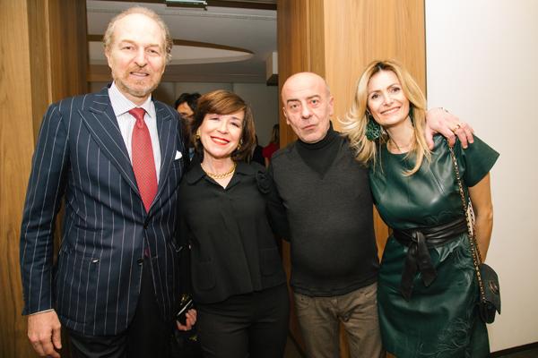 Arturo Artom, Grazia Rota, Ivan Rota, Iliana Turrini