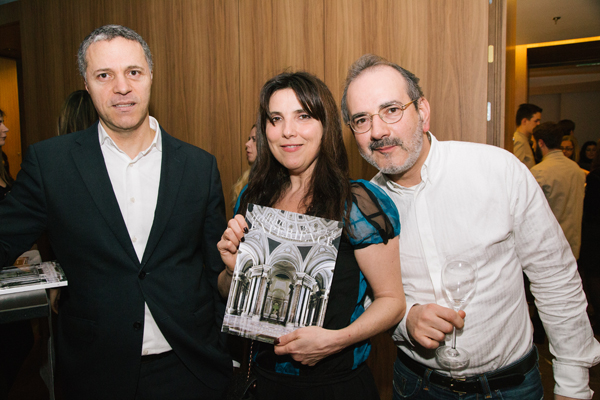 Massimo La Greca, Alessandra Fenives, Luca Pioli