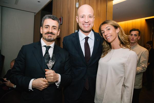 Luca Greco, Luca Finardi, Michela Proietti