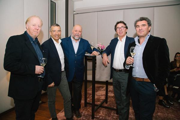 Mario Lalli, Stefano Zaiotti, Leo Damiani, Reanto Tagliagambe, Corrado Moscatelli