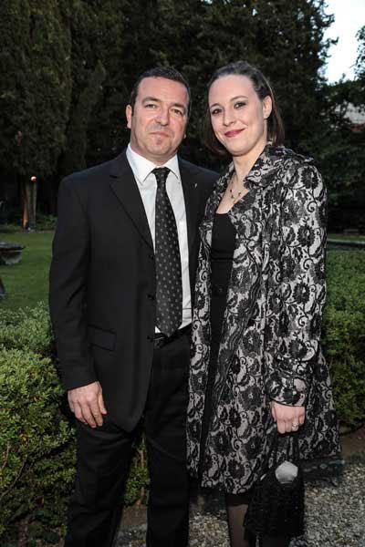 Stefano Piram e Francesca Nori