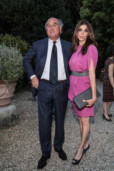 Enrico Ciani e Susanna Alberghini