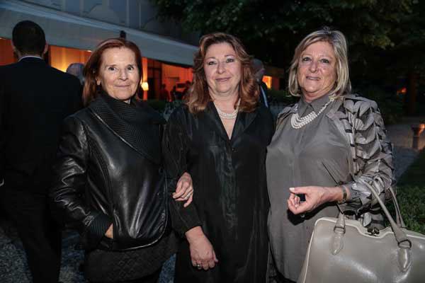 Hilary Caldinchingolo, Sandra Giaconi e Sara Baracchino