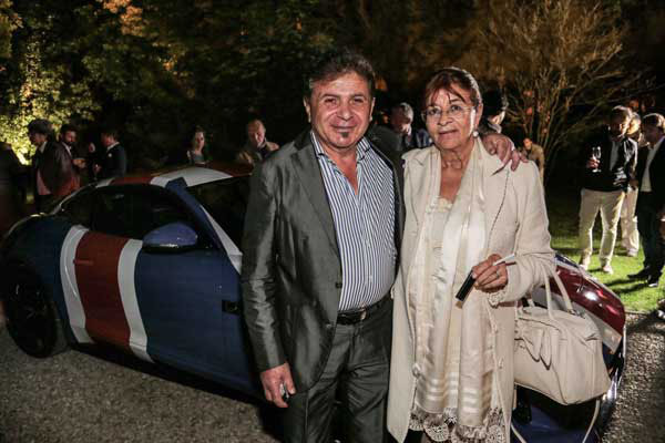Gino Bettini e Beatrice Pazzaglia