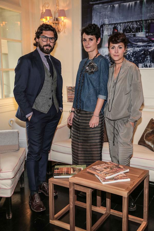 Antoine Miele, Elisa Bianchini, Letizia Mariucci