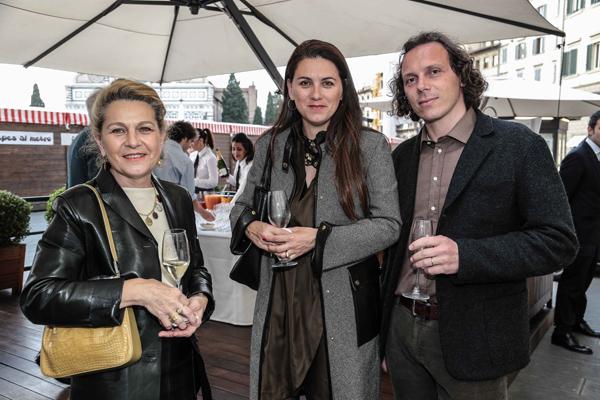 Sandra Tolomei, Micaela Antoniadis e Andrea Alberico