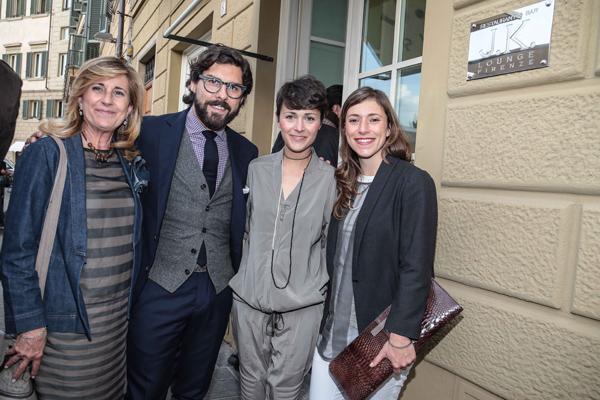Ana Ugolini, Antoine Miele, Letizia Mariucci, Enrica Della Martira