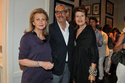 Alessandra and Franco Mariotti, Anna Federici