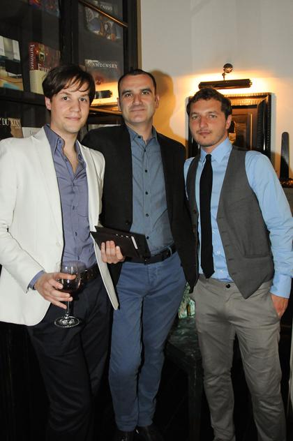 Alex Romano, Angelo Miccadei, Roberto Tinalli