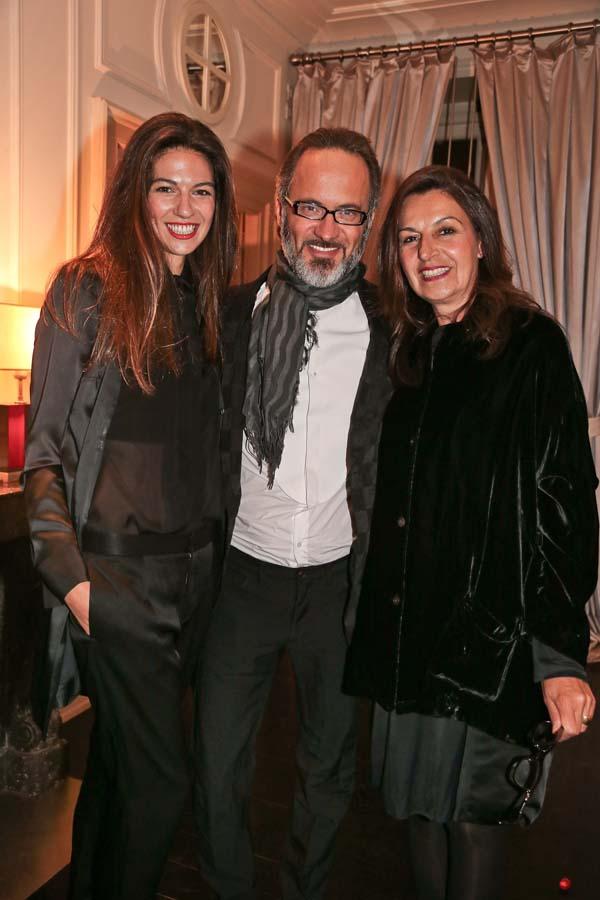 Giorgia Truzzi, Andrea Martinelli, Mara Truzzi