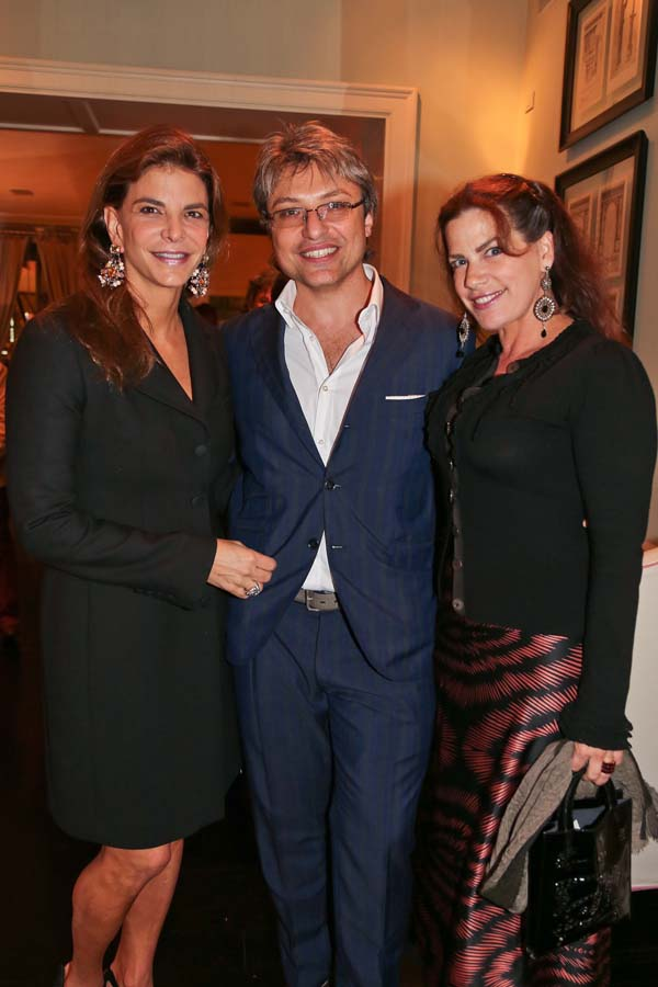 Dina De Luca, Claudio Meli, Jane Veronis