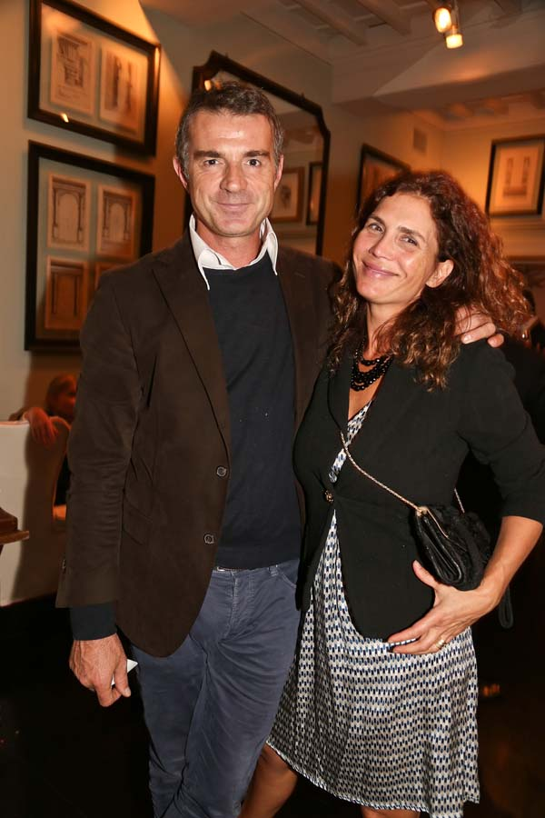 Tommaso and Claudia Signorini
