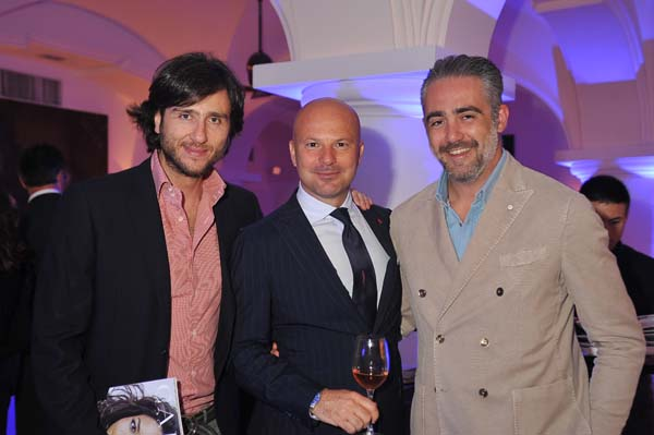 Alex Vittorio Lana, Ermanno Zanini, Matteo Parigi Bini