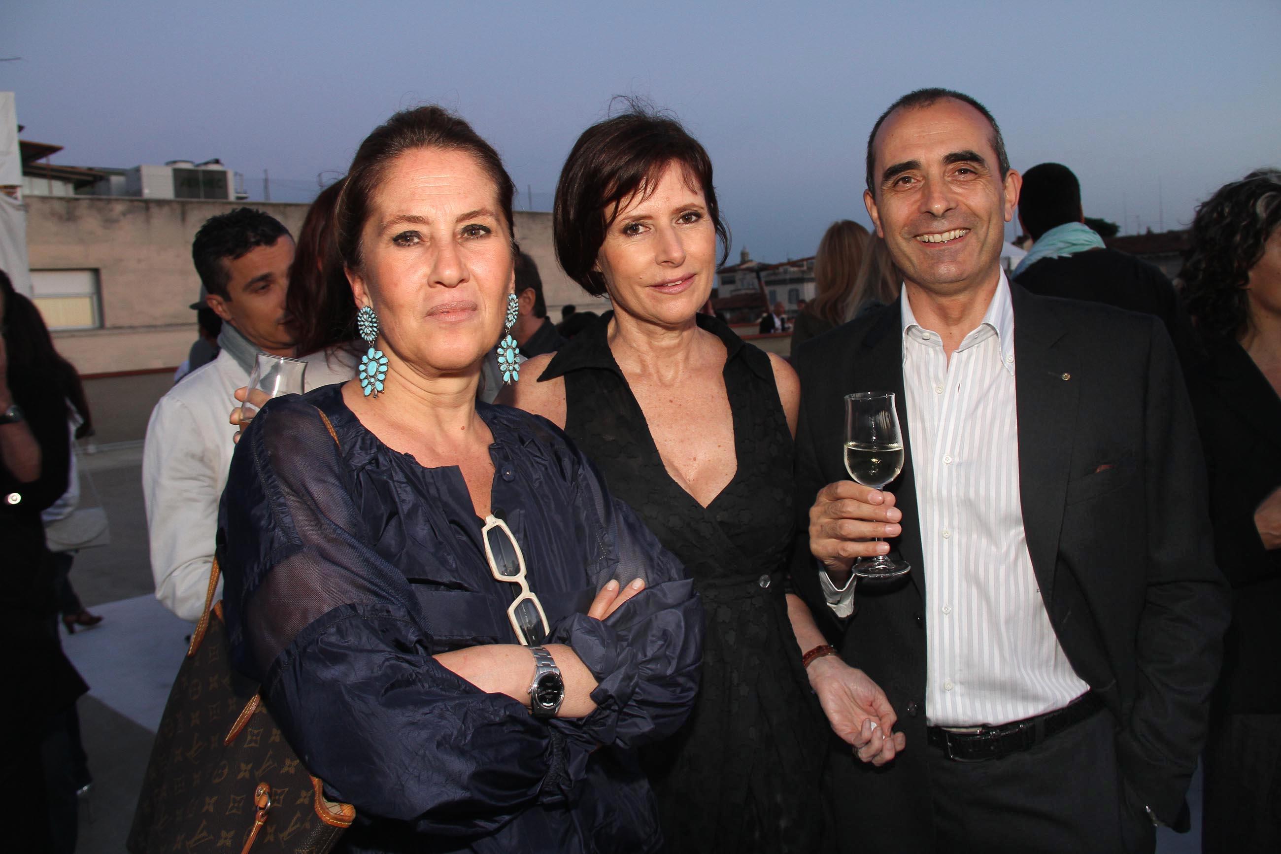 PRESSPHOTO Firenze, Garage Europa, evento Keep Wild. Nella foto DOnatella Calzolari con Ernesto e Trudy Mazza