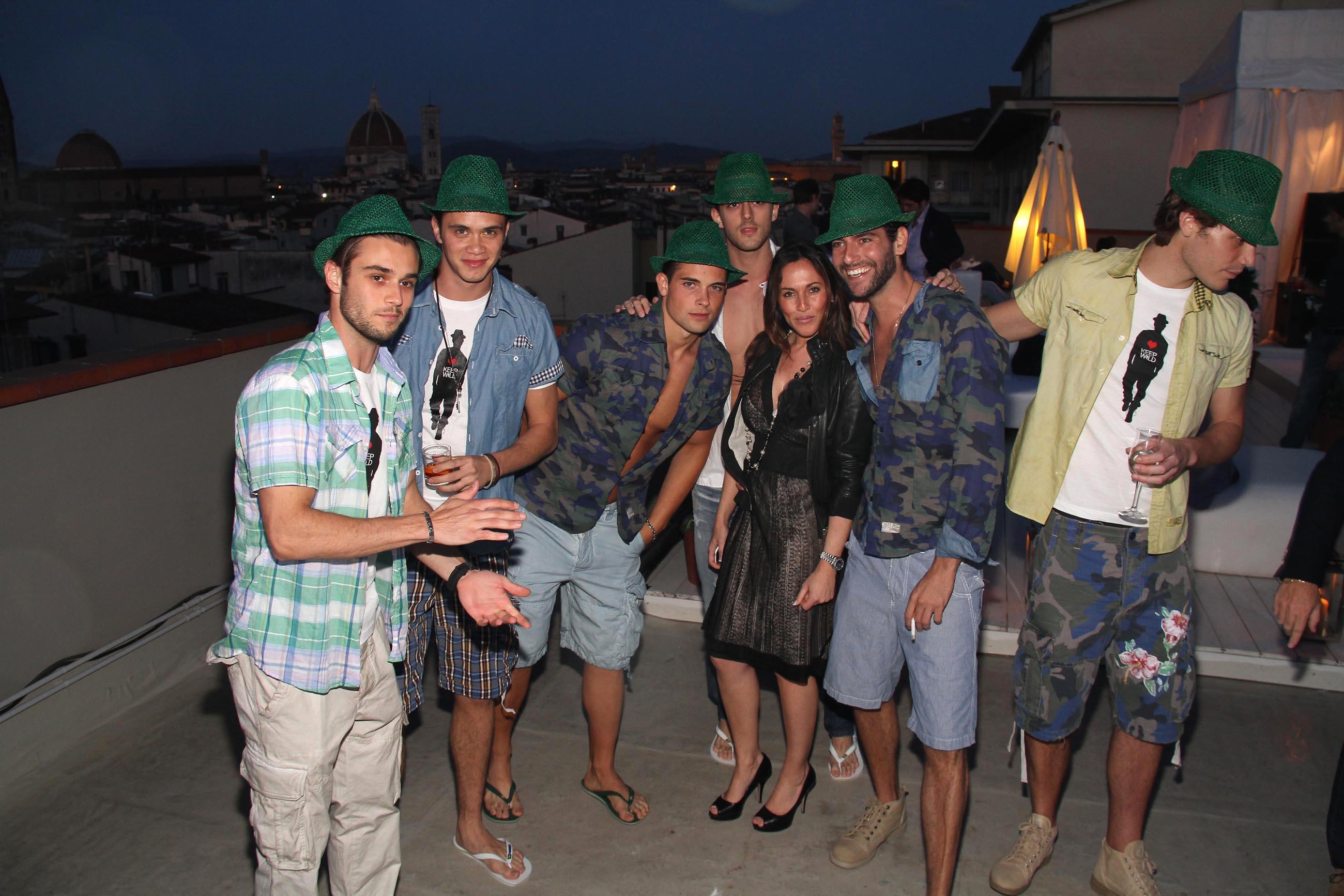 PRESSPHOTO Firenze, Garage Europa, evento Keep Wild. Nella foto Natascha Elfring con i modelli