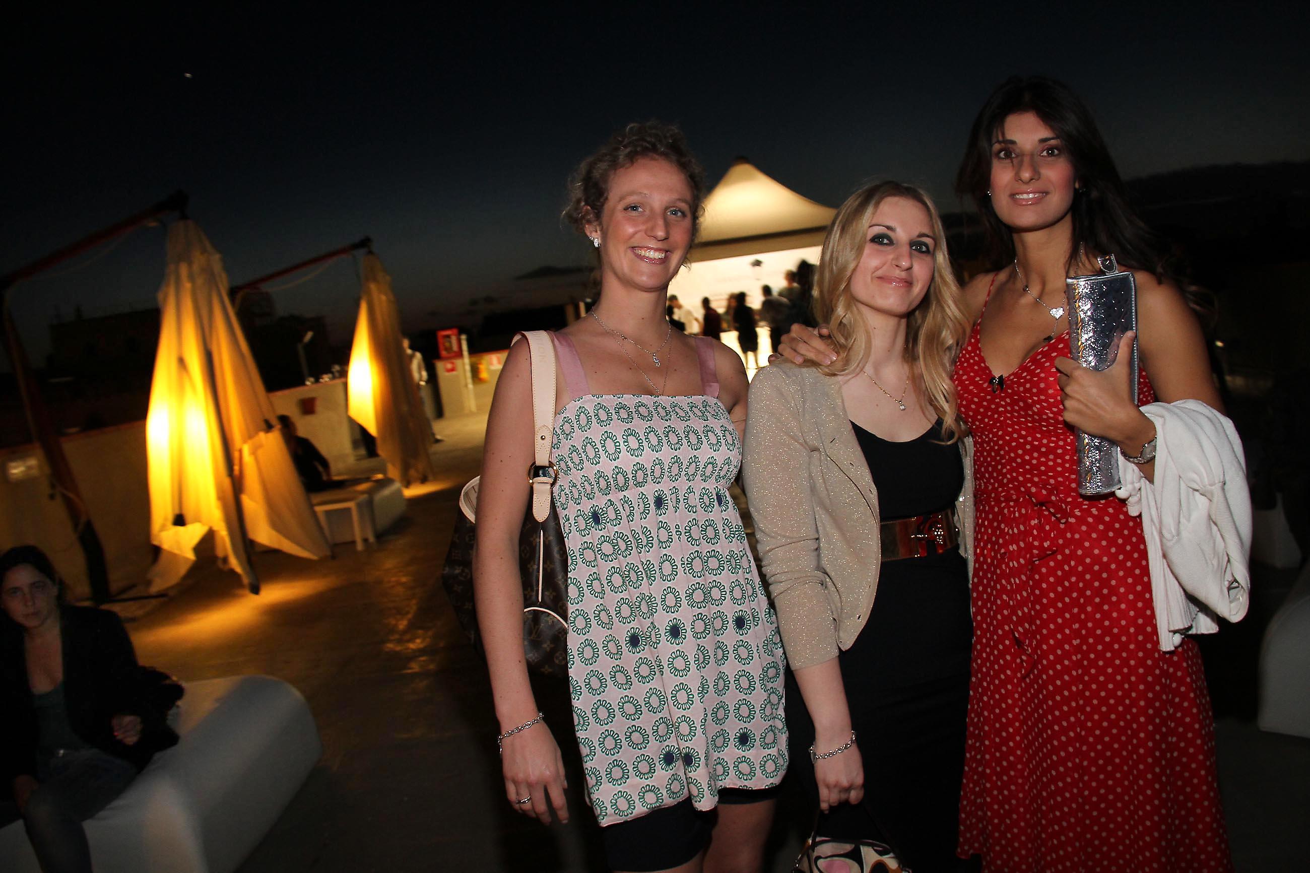 PRESSPHOTO Firenze, Garage Europa, evento Keep Wild. Nella foto Giuditta Marchi, Brenda Bertini, Claudia Tripodi