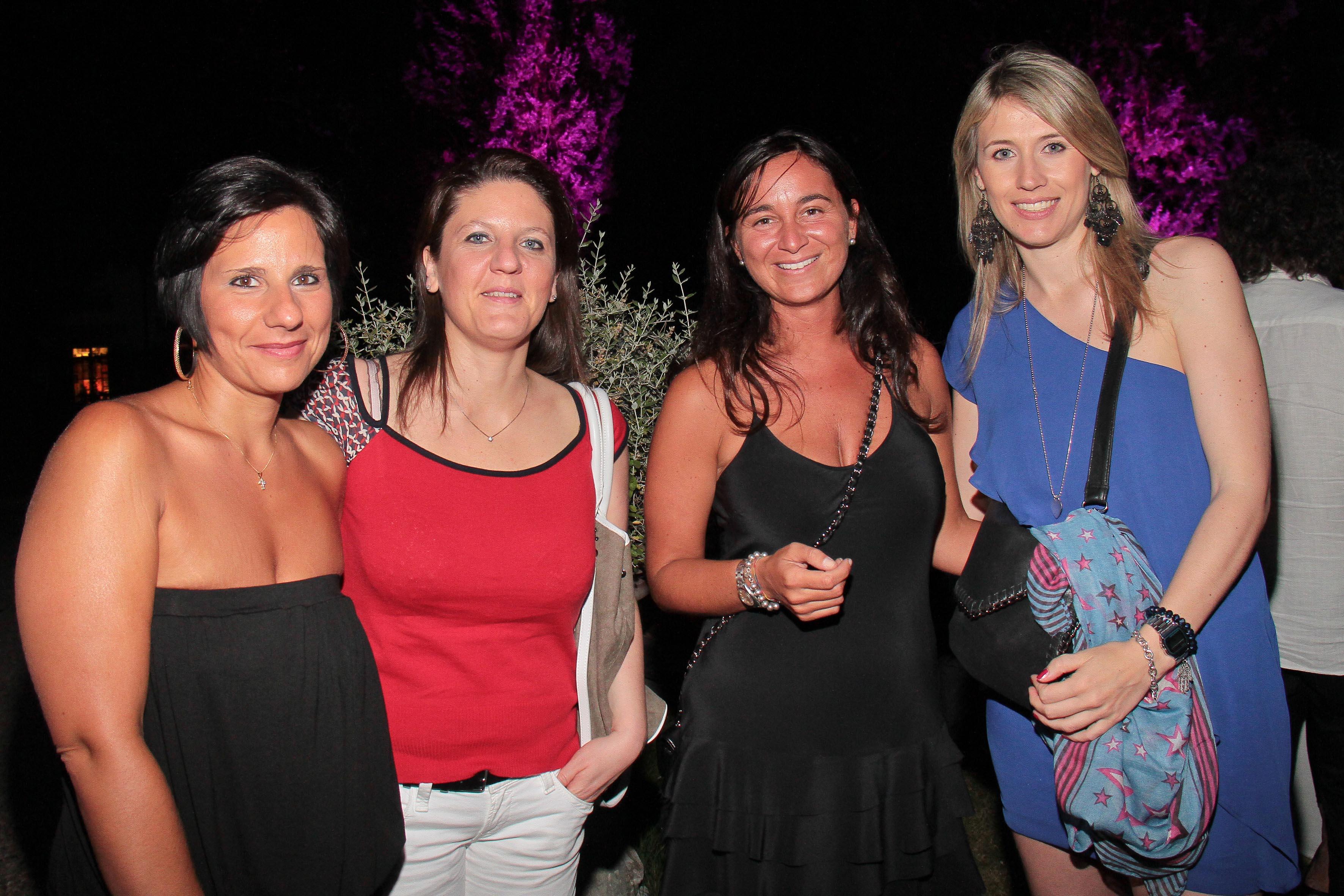 PRESSPHOTO Firenze, LOFT, evento Kocca. Nella foto Raffaella e Silvia Galli, Caterina Campana e Silvia Cosi giuseppe cabras/new press photo
