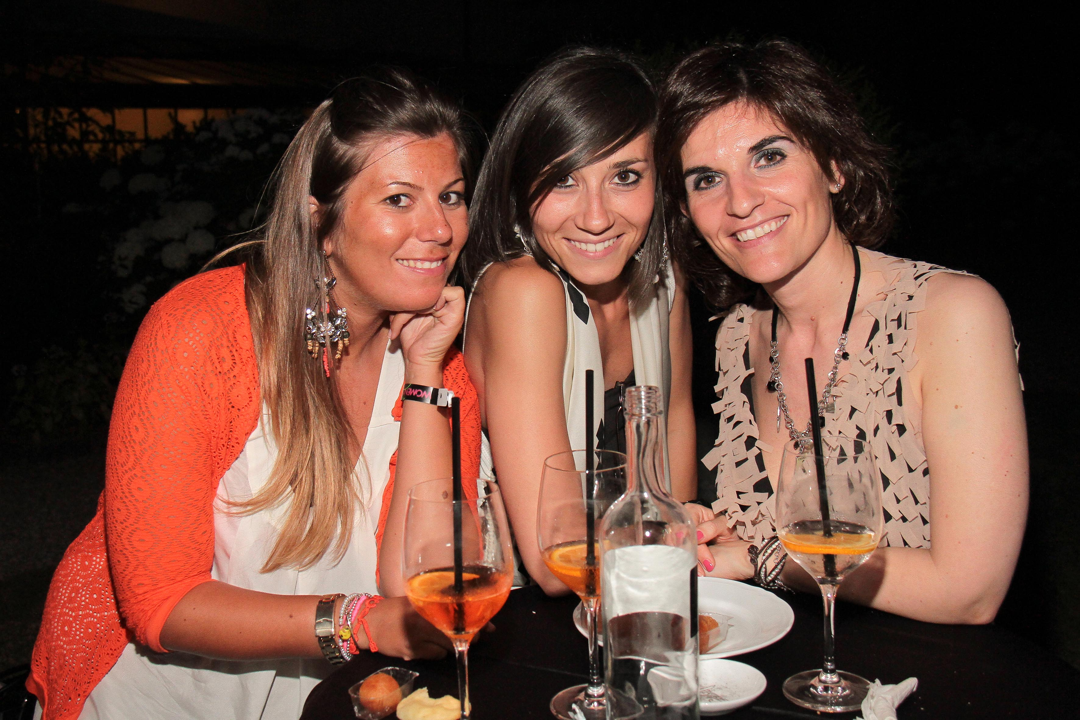 PRESSPHOTO Firenze, LOFT, evento Kocca. Nella foto Caterina Raffa, Chiara Gavioli, Silvia Tozzi giuseppe cabras/new press photo