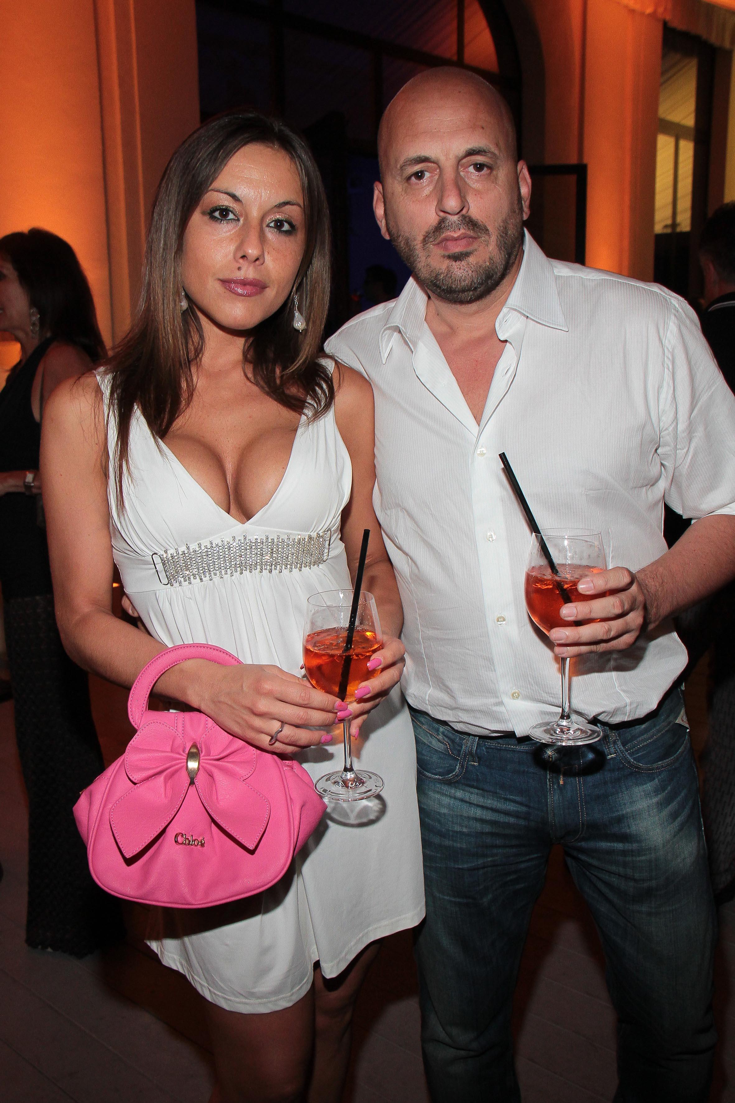 PRESSPHOTO Firenze, LOFT, evento Kocca. Nella foto Valentina Tosti, Fabio Bonciani giuseppe cabras/new press photo