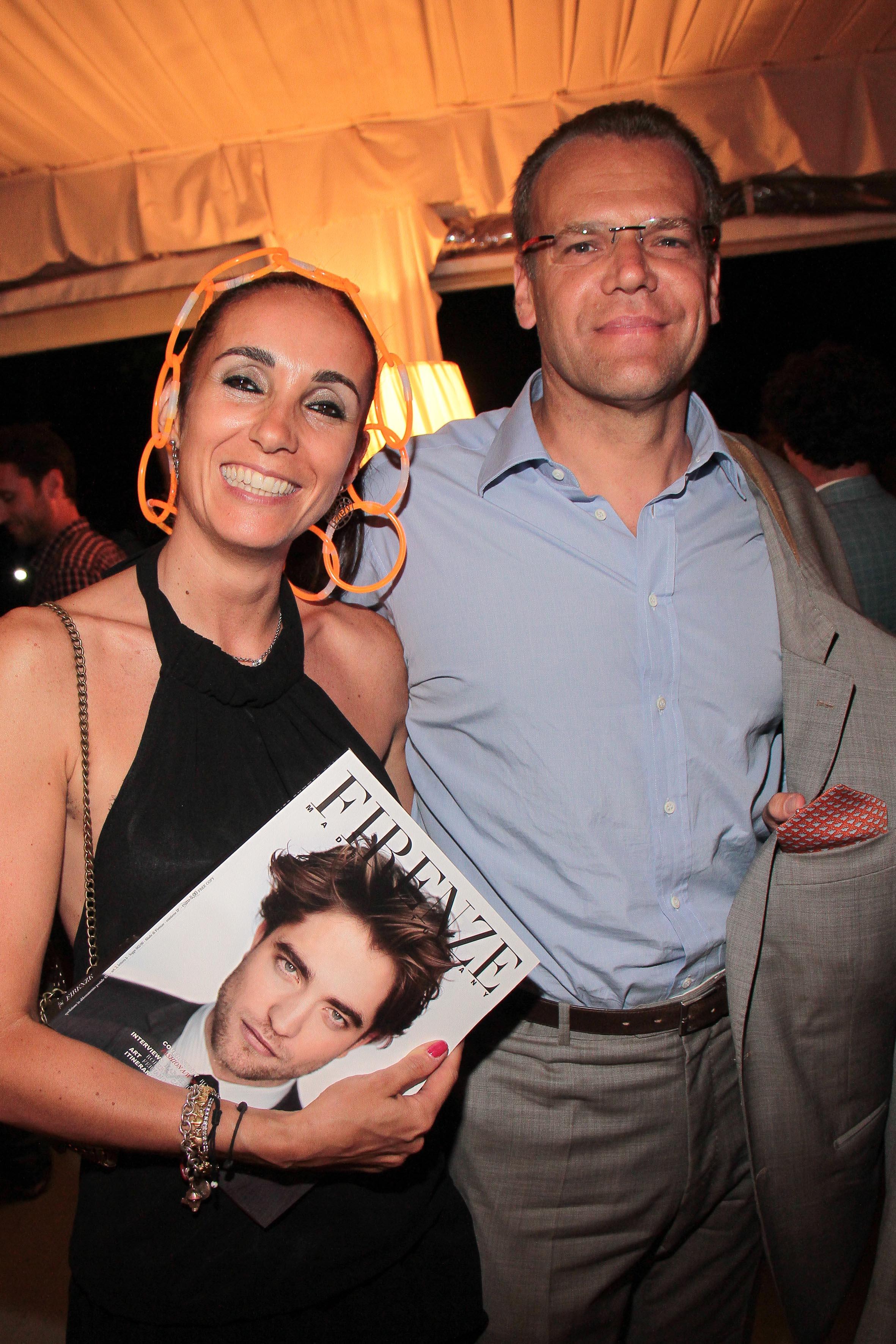 PRESSPHOTO Firenze, LOFT, evento Kocca. Nella foto Luca Bencini e Alessandra Bacci giuseppe cabras/new press photo