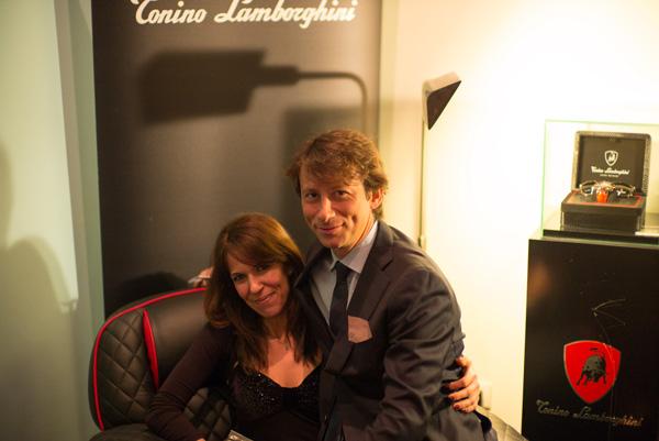 Alberto Cipriani, Lucia Falerni