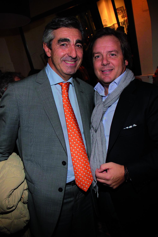 PRESSPHOTO. Firenze, ristorante La Baraonda. Nella foto Giuseppe Caglia e Massimo Nocera