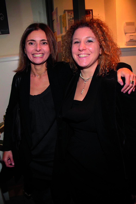 PRESSPHOTO. Firenze, ristorante La Baraonda. Nella foto Rita Anceschi e Eleonora Montenurro