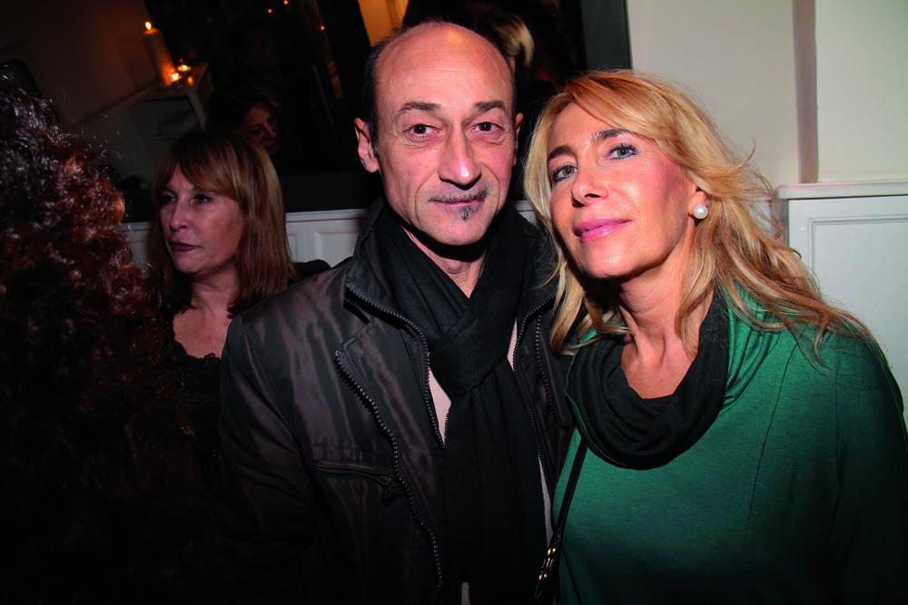 PRESSPHOTO. Firenze, ristorante La Baraonda. Nella foto Ugo Nicolini e Antonella Romani