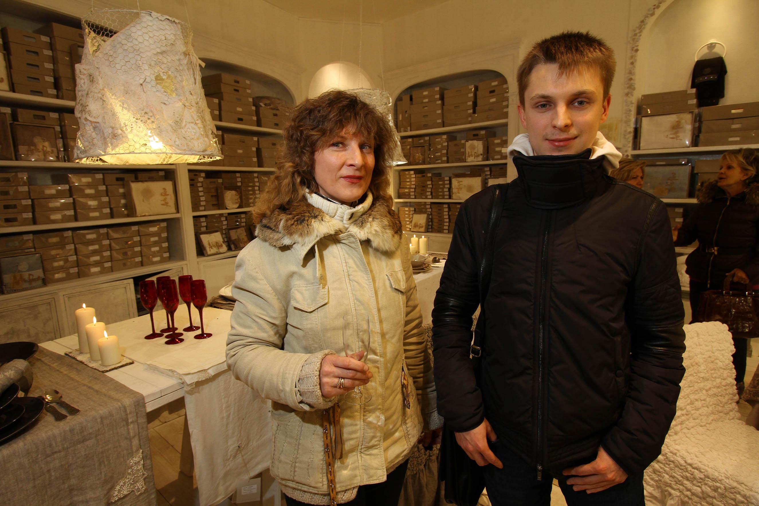 PRESSPHOTO Firenze, La Galleria. Nella foto Yaroslav Sudarushkin e Galina Kravchenko