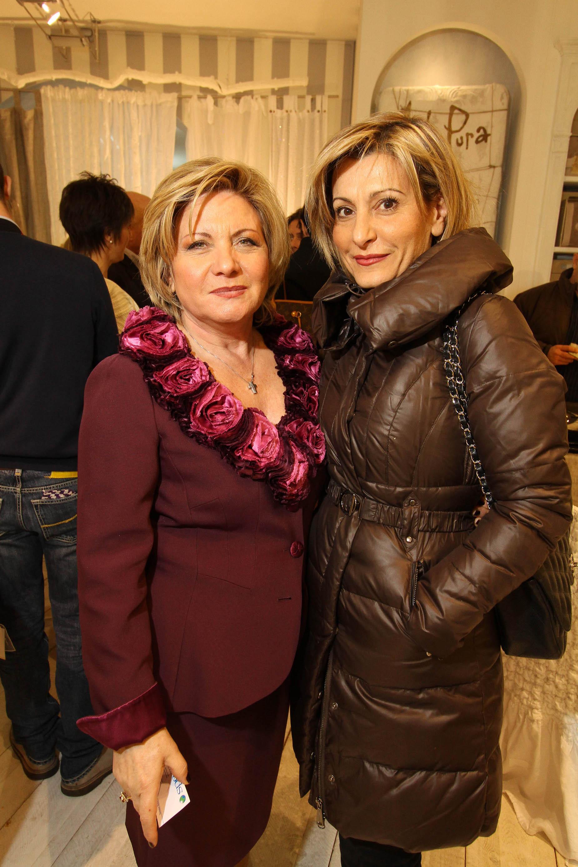 PRESSPHOTO Firenze, La Galleria. Nella fotoetty Mastrangeli e Maria Lombardi