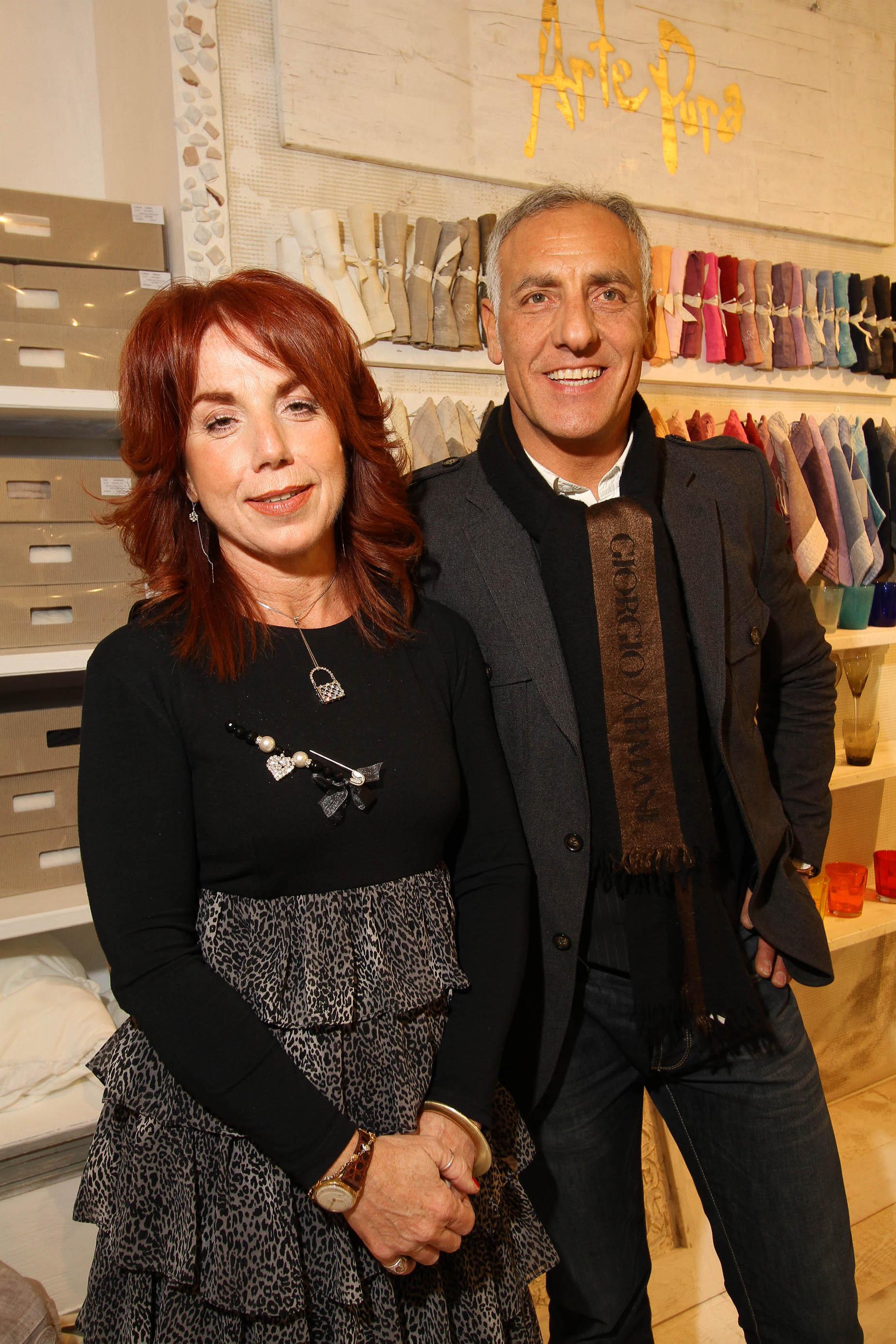 PRESSPHOTO Firenze, La Galleria. Nella foto Lucia Rombolà e Nicola Cesaro