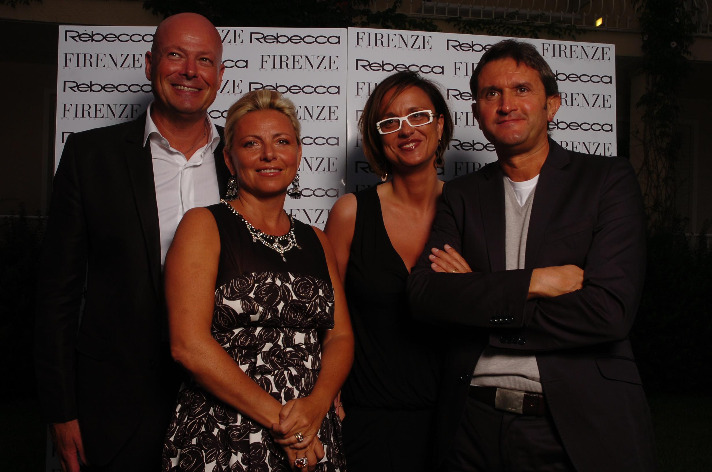 Riccardo Ciattini, Paola Gallarà, Martina e Lorenzo Lotti