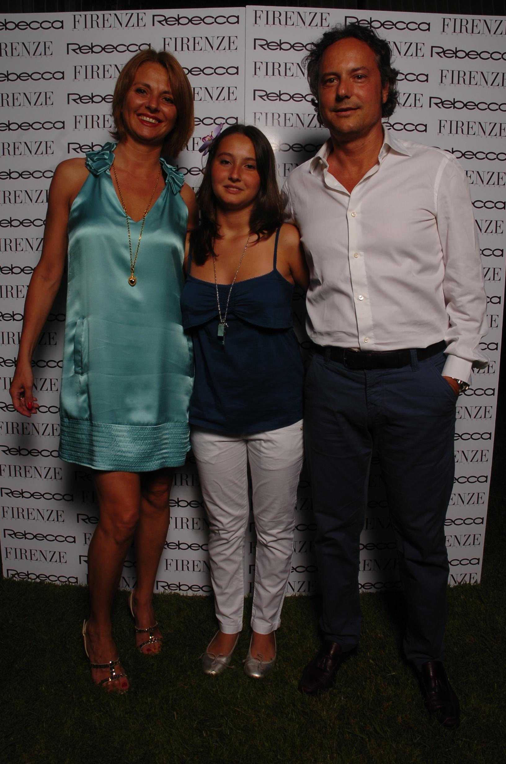 Giovanni e Linda Dell'Aiuto con Lucrezia