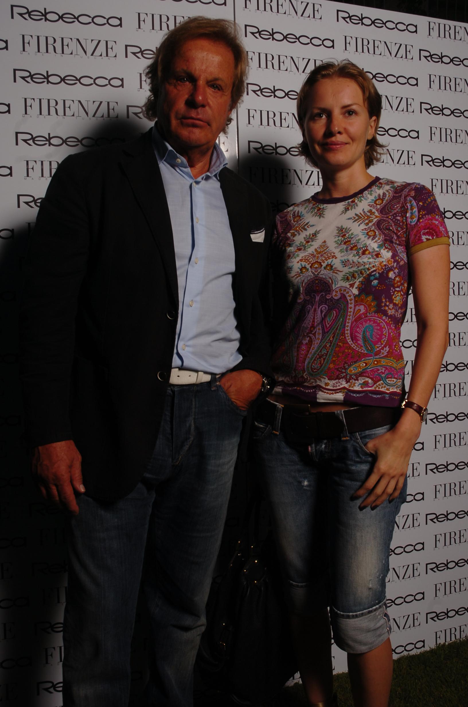 Romano Pasquini e Julia Riva