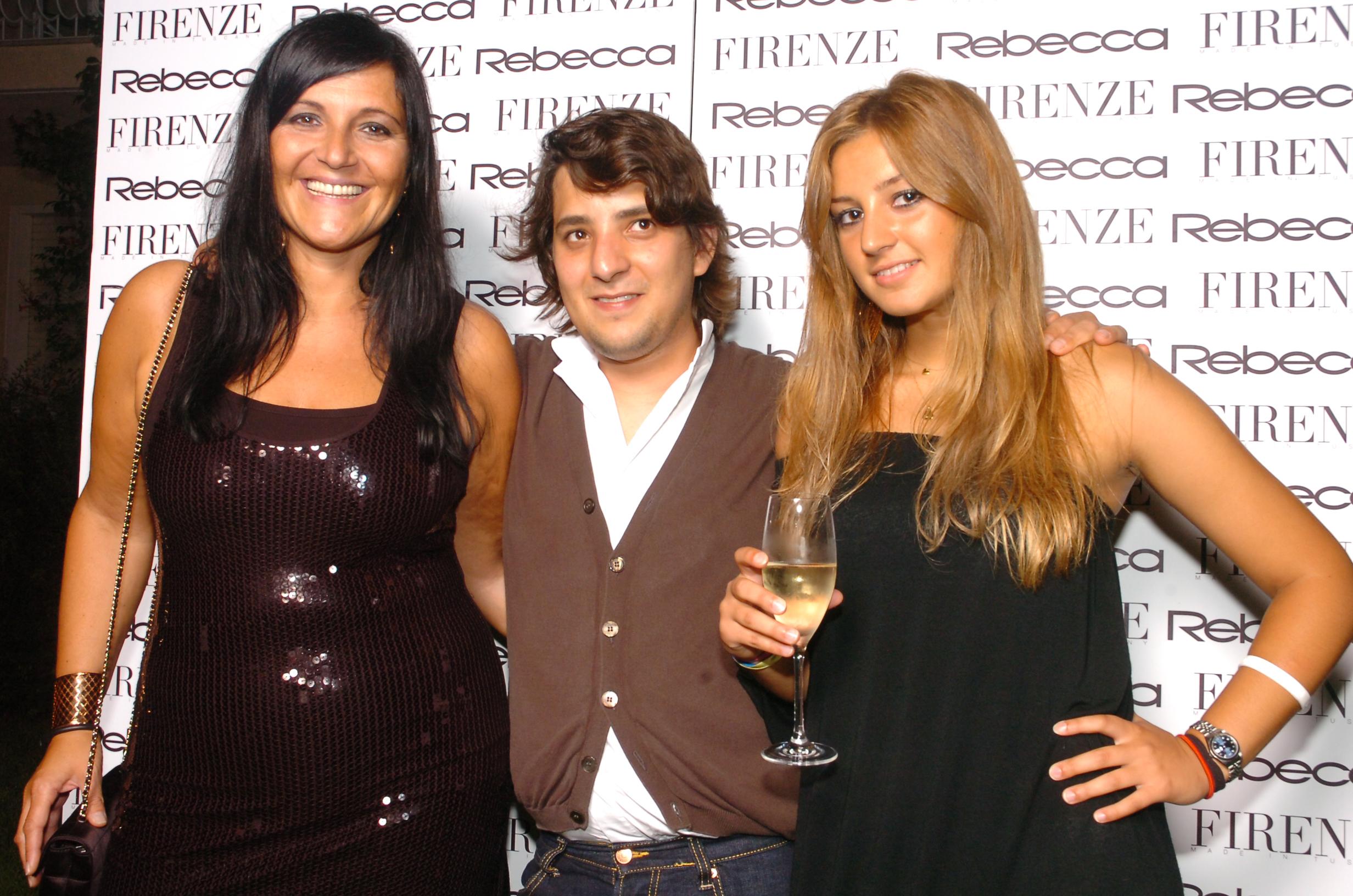 Sandra Corsini, Marco Cacchione, Rebecca Testi